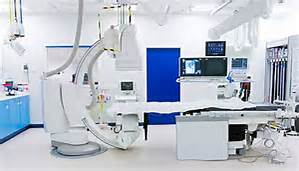 Angiogram machine